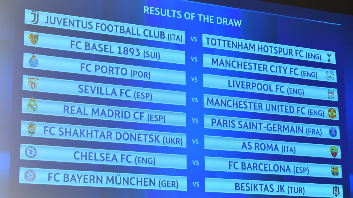 2526429_w1 UEFA Champions League round of 16 draw