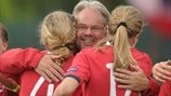 Watch Norway's Hegerberg in 2011