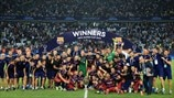 See how Barcelona beat Sevilla 5-4 in Super Cup thriller