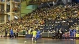 Record entry for 2016/17 UEFA Futsal Cup