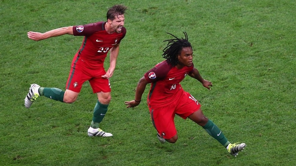 Renato Sanches becomes third-youngest EURO scorer