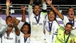 Watch the moment Real Madrid lifted the Super Cup