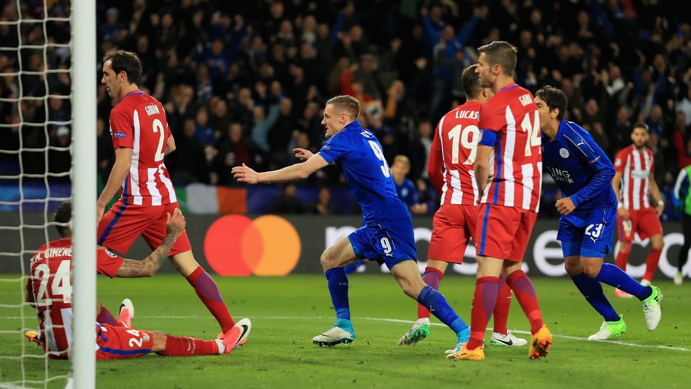Leicester City vs Atletico Madrid Highlights
