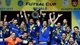 Highlights: Watch seven-goal Inter sweep to Futsal Cup final victory