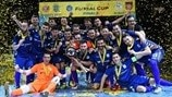 Effervescent Inter claim fourth UEFA Futsal Cup
