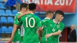 U17 Highlights: Irish keep hopes alive