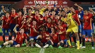 Spot-on Spain claim record third U17 EURO title
