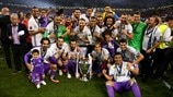 Real Madrid continue to dominate UEFA club rankings