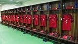 Portugal dressing room
