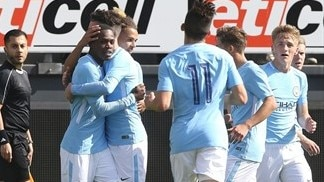 Manchester City into Youth League last 16, Liverpool clear