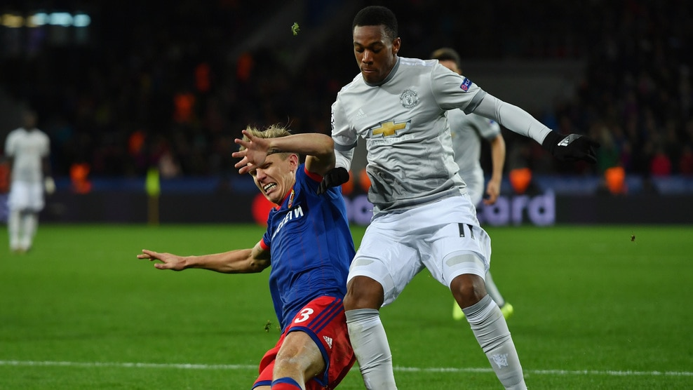 SCKA Moscow vs Manchester United Highlights