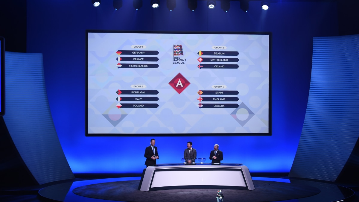 UEFA Nations League 2018/19 League Phase draw - UEFA Nations