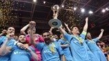Highlights: Inter beat Sporting for fifth UEFA Futsal Cup title