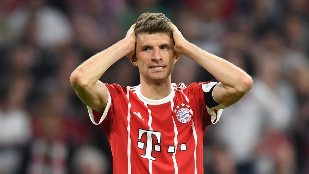 Thomas Müller sums up the Bayern frustration