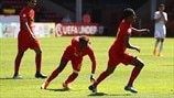 U17 quarter-final highlights: Belgium 2-1 Spain