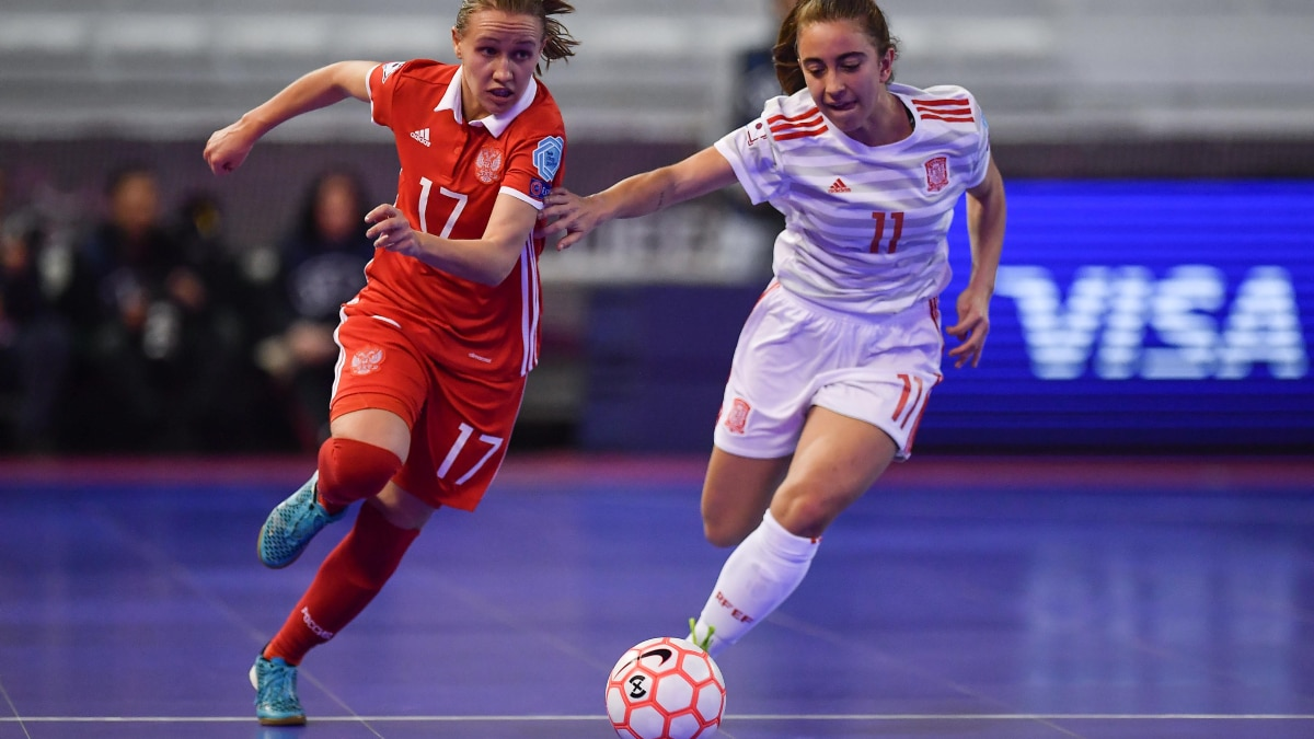 UEFA Women's Futsal EURO - Video - Semi-final highlights: Russia 0-5