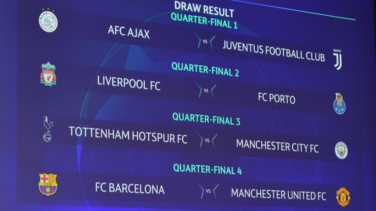 Champions League Quarter Final And Semi Final Draws Uefa
