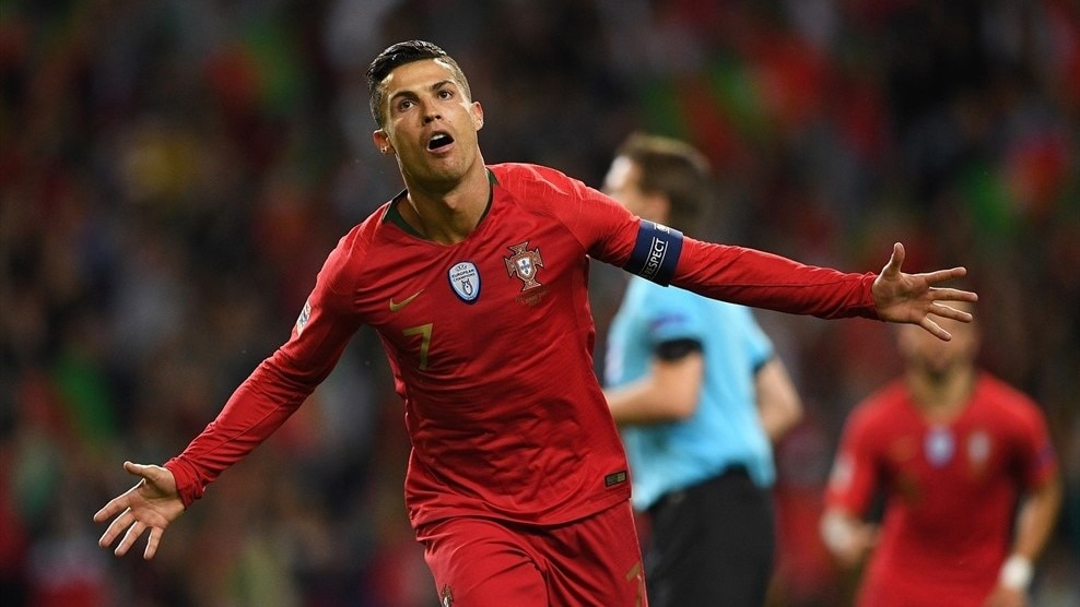 Watch Ronaldo's brilliant semi-final hat-trick