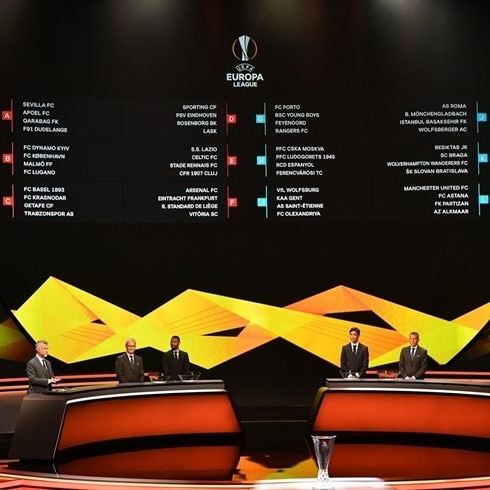 Uefa Europa League Fixtures And Results Uefa Europa League