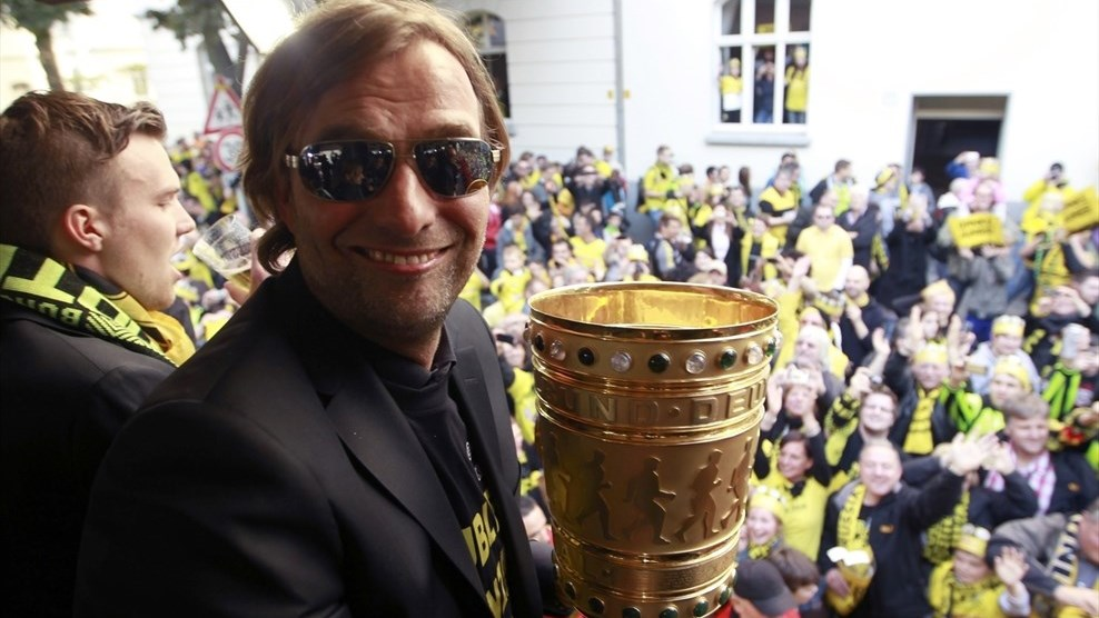 Jürgen Klopp set the pace for Dortmund coaches