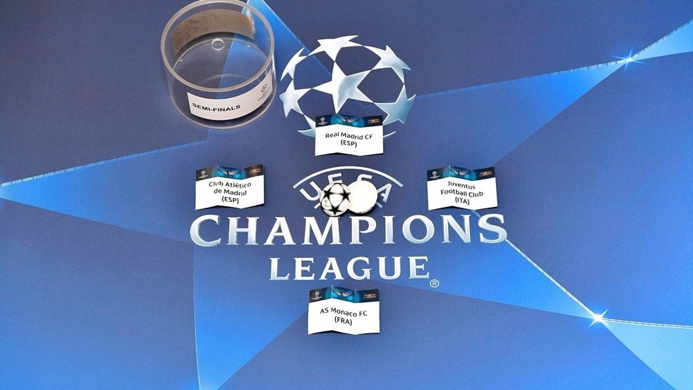 Chamions League & Europa League Semi-finals Draw