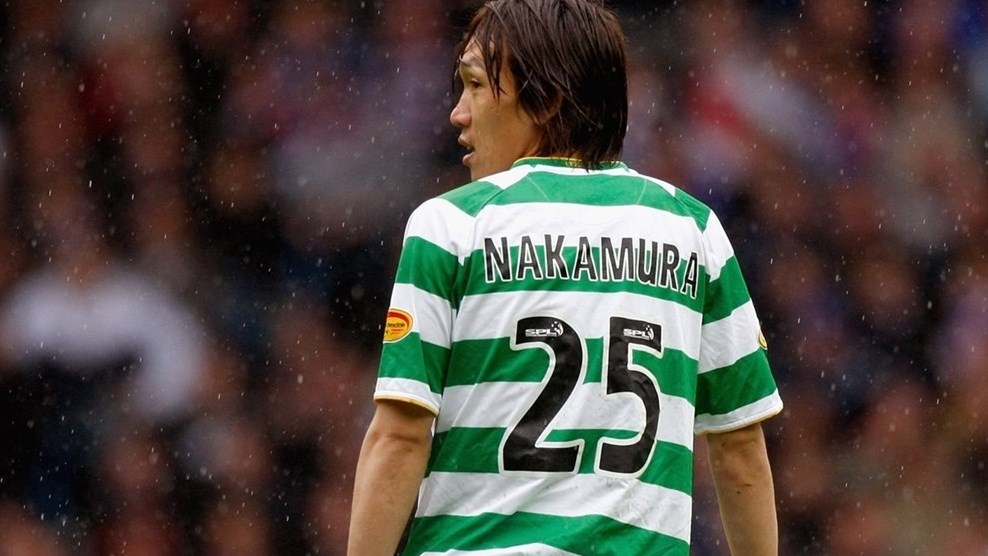 best website a3f90 0d6a1 Nakamura-signed Celtic shirt competition - UEFA Champions ...