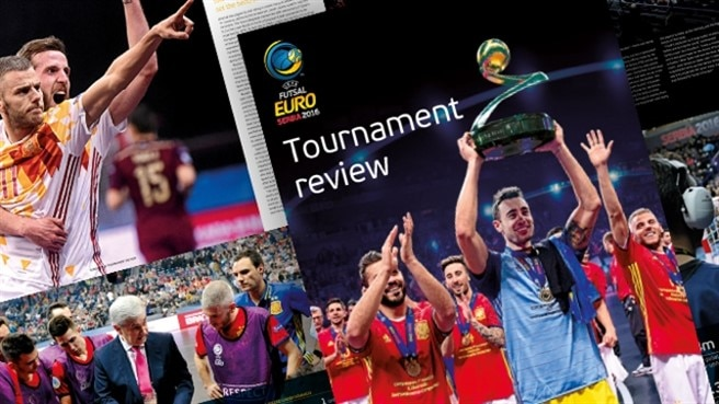 All-star squad in Futsal EURO tournament review