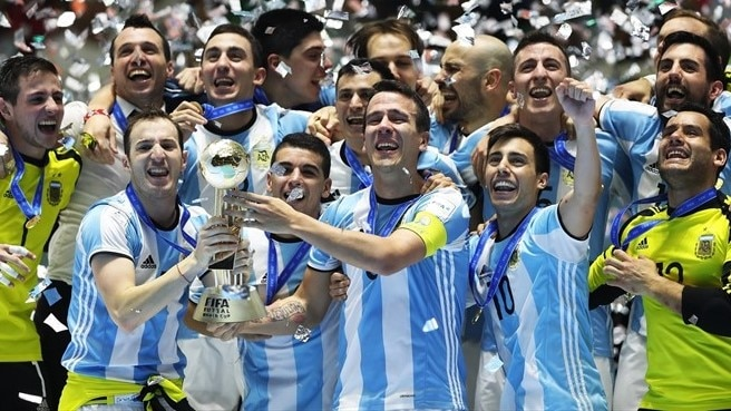 Argentina beat Russia in Futsal World Cup final