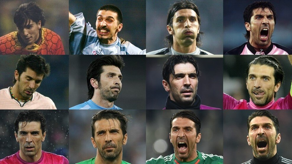 Gianluigi Buffon in the UEFA Champions League