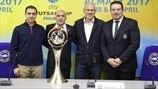 UEFA Futsal Cup semi-final draw