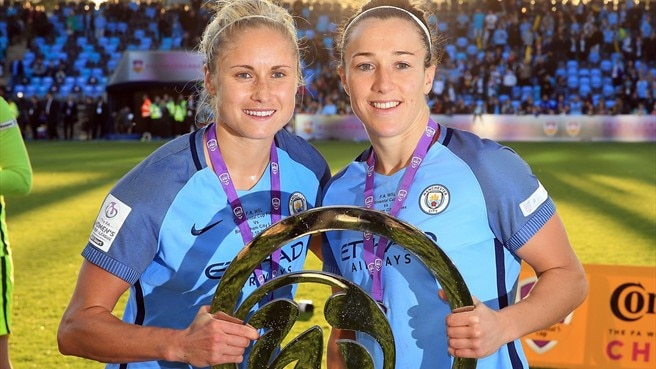 Houghton and Bronze on Manchester City ambitions
