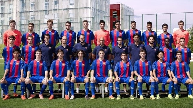 UEFA Youth League semi-finalist: Barcelona