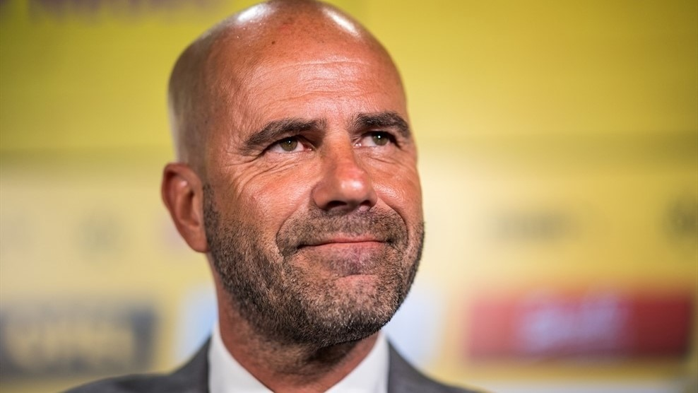 Peter Bosz is unveiled as Dortmund coach