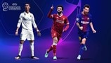 Champions League positional awards: facts and figures