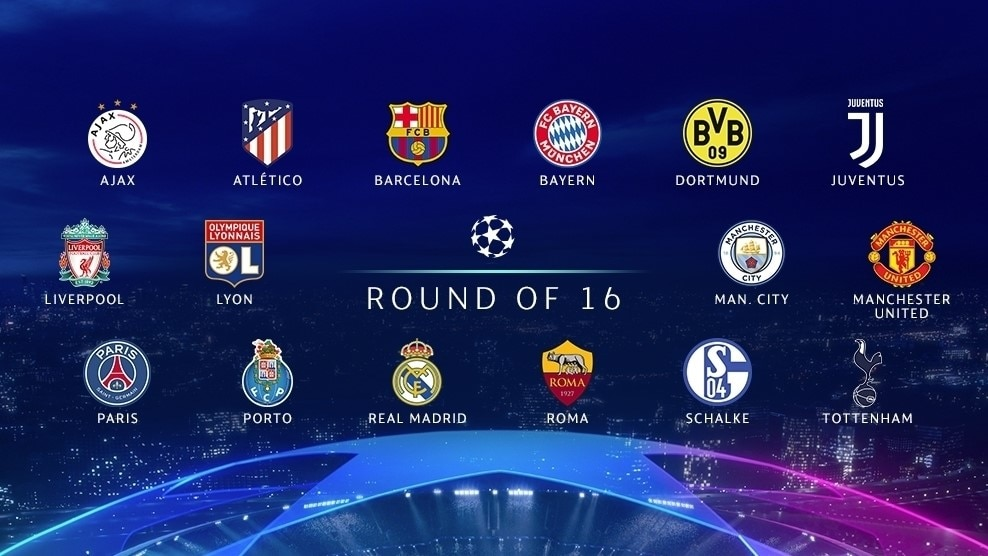 Champions League Round Of 16 Nicknames Stats And Fun