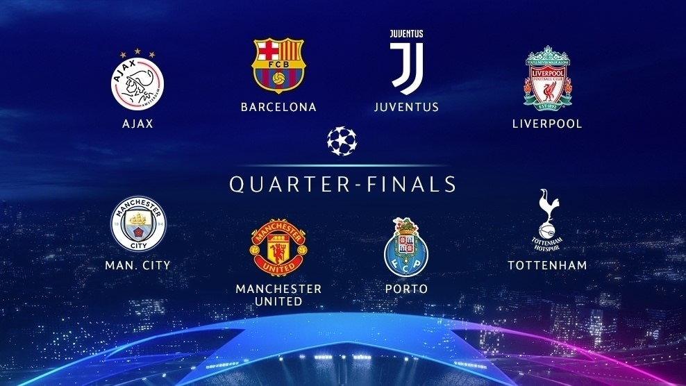 Meet The Uefa Champions League Quarter Finalists Uefa