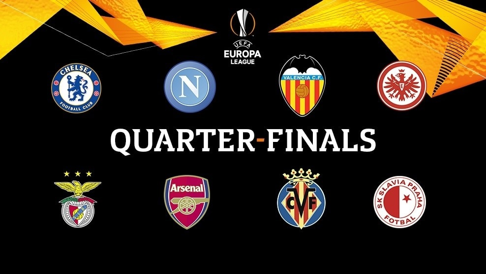 Europa League Quarter Finals Meet Your Opponents Uefa