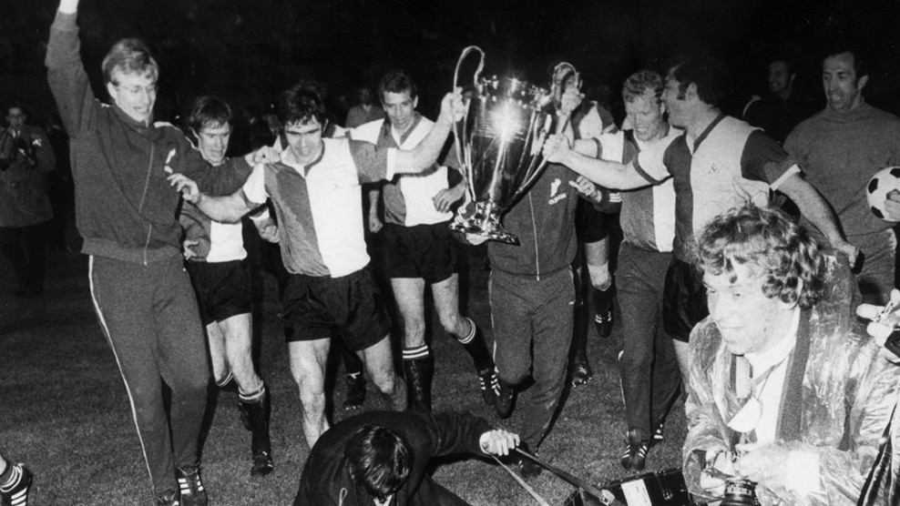 Image result for Feyenoord champions league win in 1970