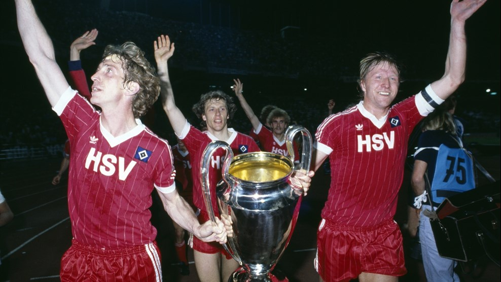 Image result for Hamburg champions league win in 1983