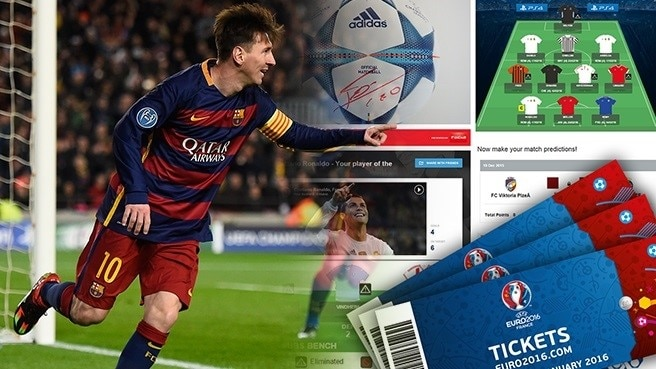 Register and win with UEFA.com