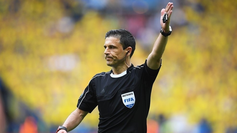 Milorad Mažić will take charge of the UEFA Champions League final