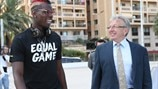 #EqualGame launch - Paul Pogba and Eddie Thomas