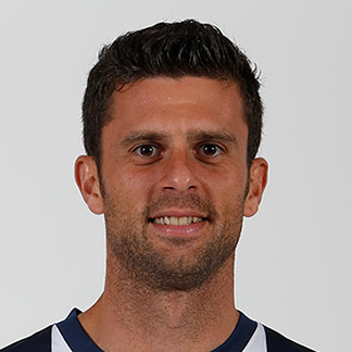 The 35-year old son of father (?) and mother(?), 187 cm tall Thiago Motta in 2017 photo