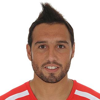 Santi Cazorla Hair