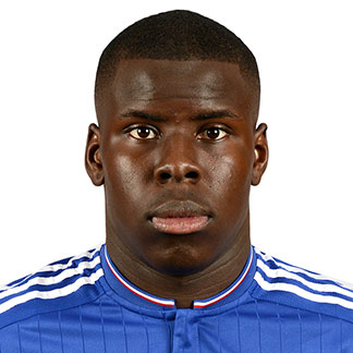 The 23-year old son of father Guy Zouma and mother(?), 190 cm tall Kurt Zouma in 2018 photo