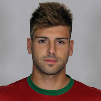 Miguel Veloso with his faux hawk hairstyle during the Euro 2012