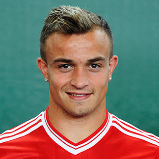 Xherdan Shaqiri earned a  million dollar salary, leaving the net worth at 4 million in 2017