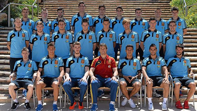 Hilo de la selección de España sub 21 e inferiores 200122