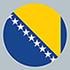 Bosnia and Herzegovina (Flag)