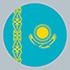 Kazajstán (Flag)